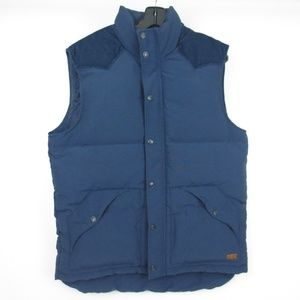 LEVIS Navy Blue DOWN Jacket Vest